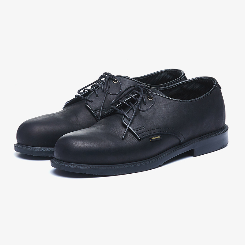 [Thorogood X FrizmWORKS]FXT Leather oxford _ black