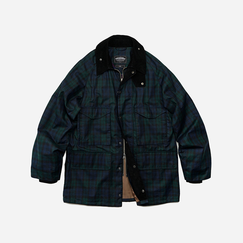 Royal hunting jacket 002 _ black watch