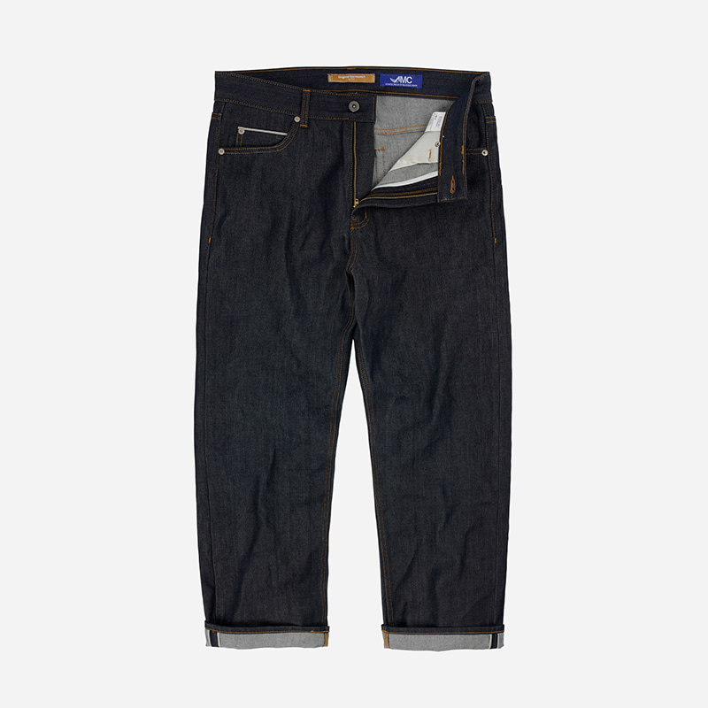 OG Selvedge regular denim pants _ rigid indigo