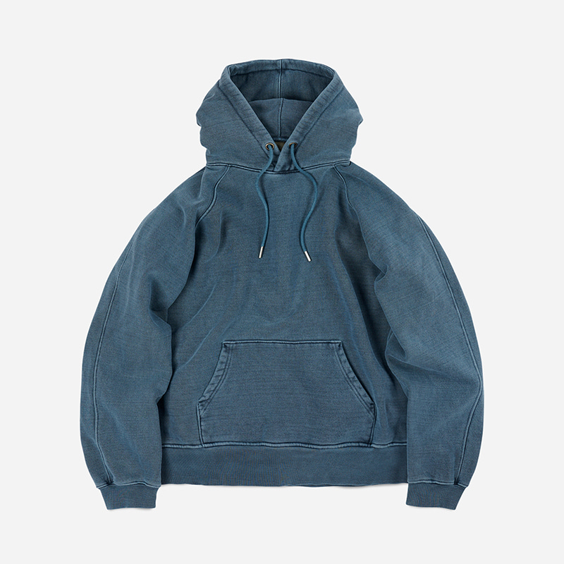 OG Pigment dyeing hoody _ blue