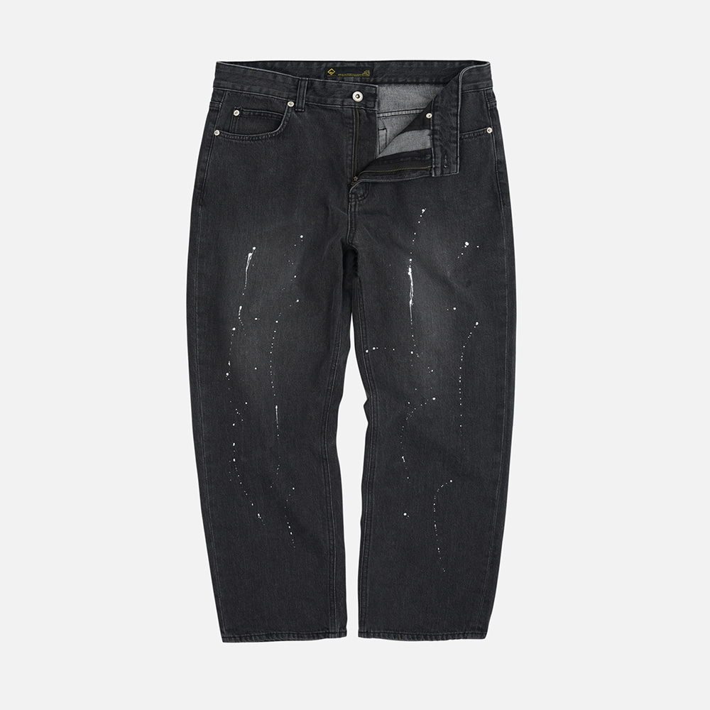 Painting washed pants _ washed black