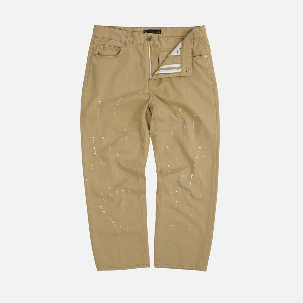 Painting washed pants _ beige