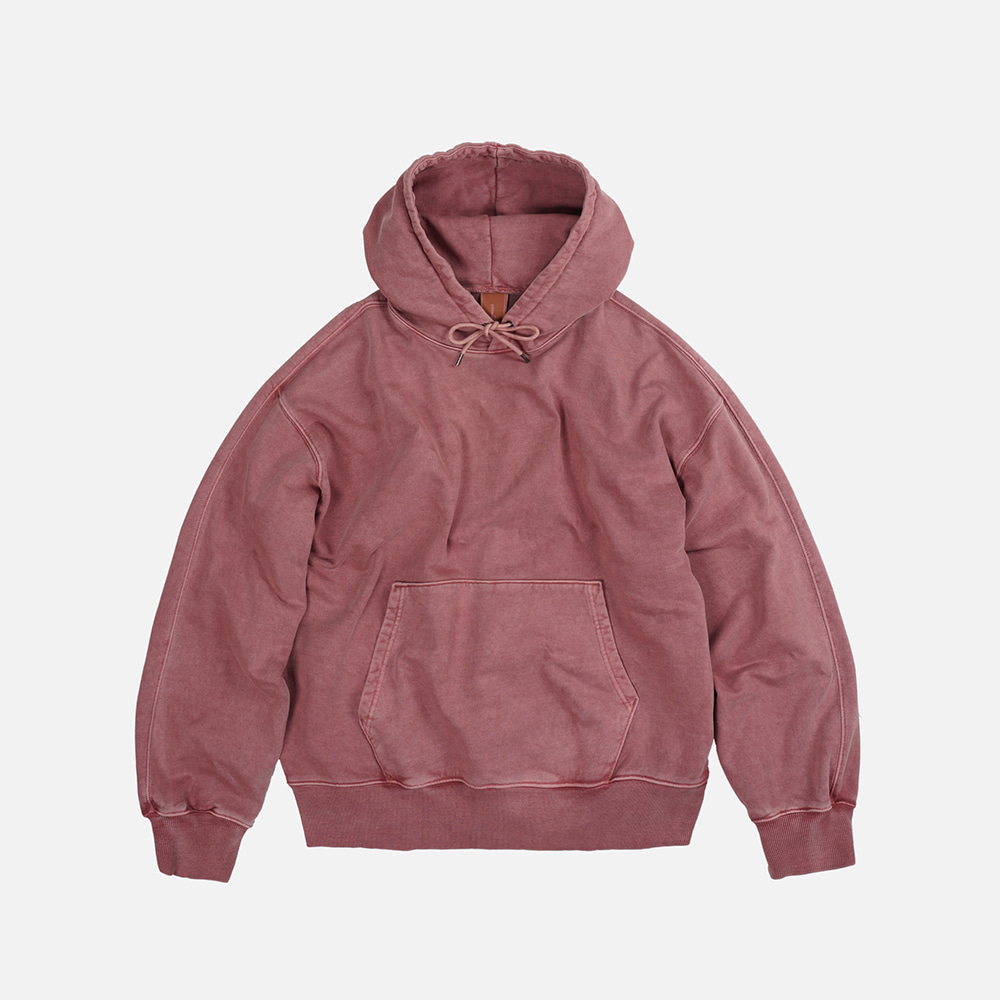OG pigment dyeing hoody 002 _ pink