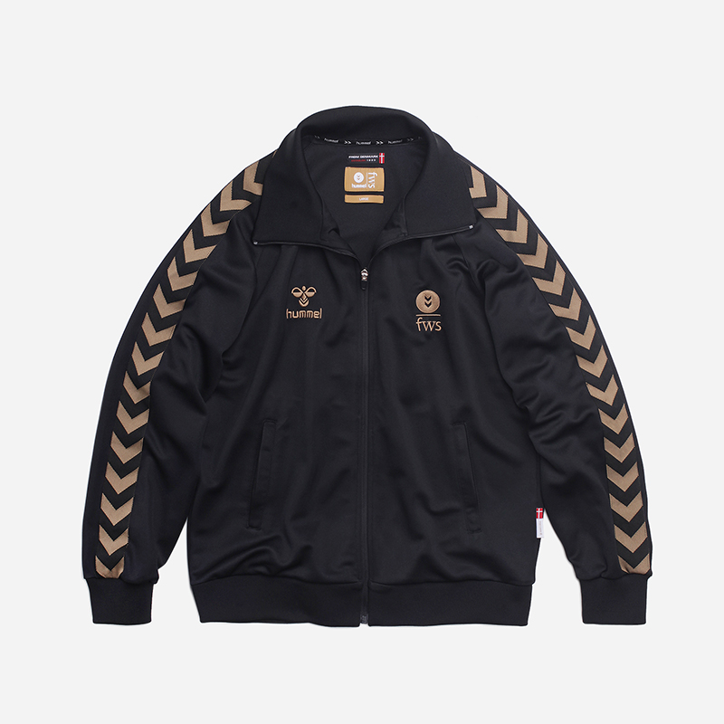 [FRIZMWORKS X HUMMEL]Synergy training jacket _ black