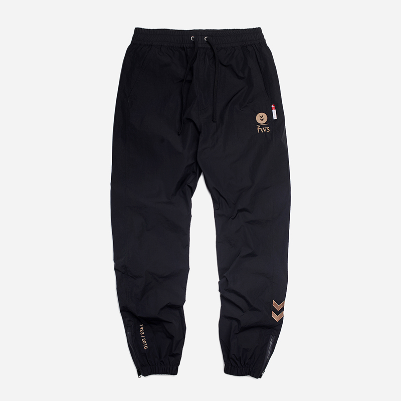 [FRIZMWORKS X HUMMEL]Synergy set-up pants _ black