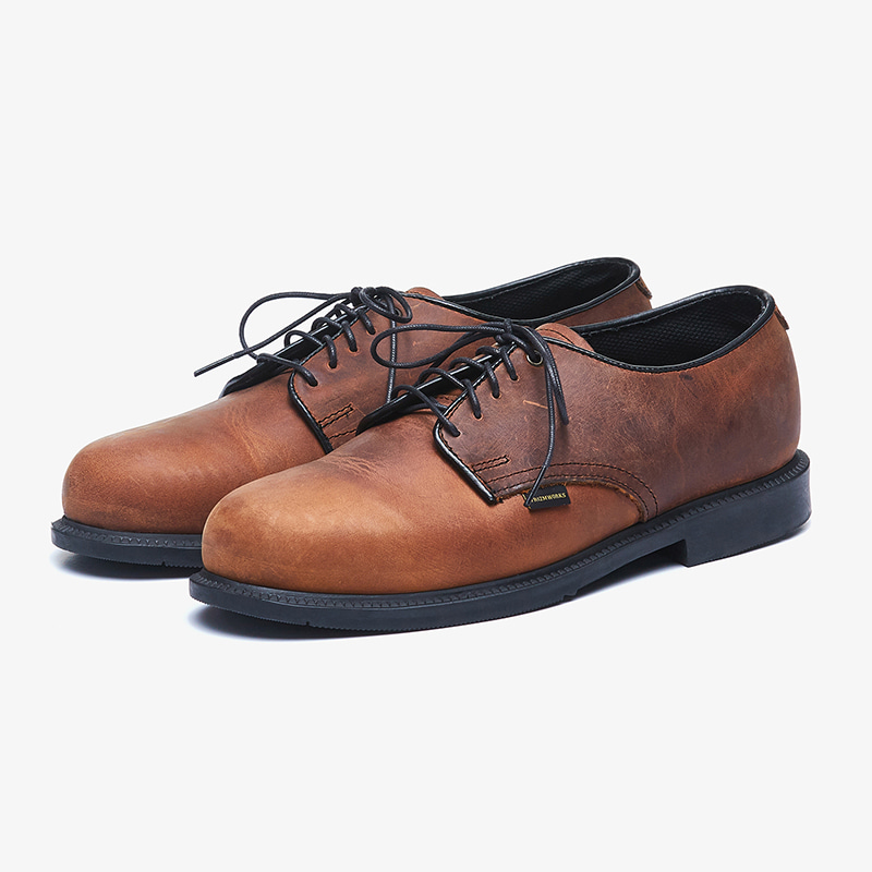 [Thorogood X FrizmWORKS]FXT Leather oxford _ brown