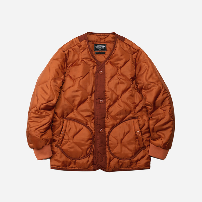 M1965 Field liner jacket _ orange