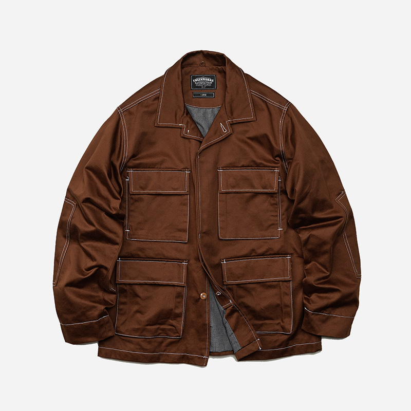 Stroll BDU jacket _ brown