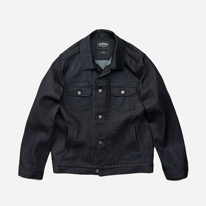 Adams trucker jacket _ indigo