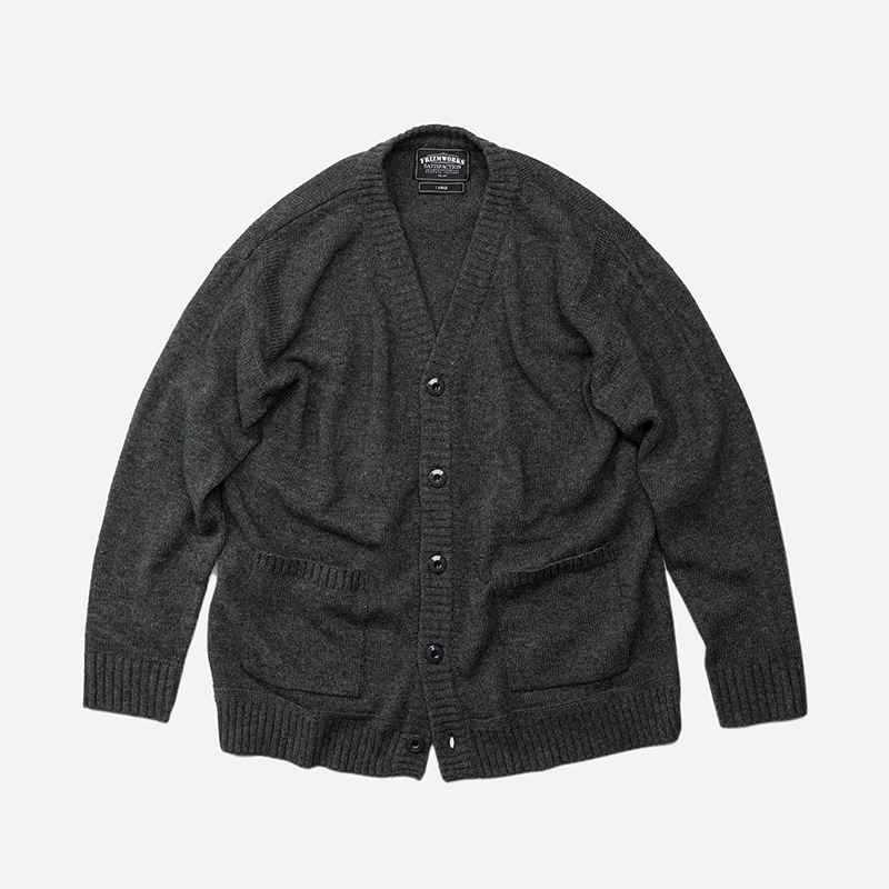 Guernsey cardigan _ charcoal