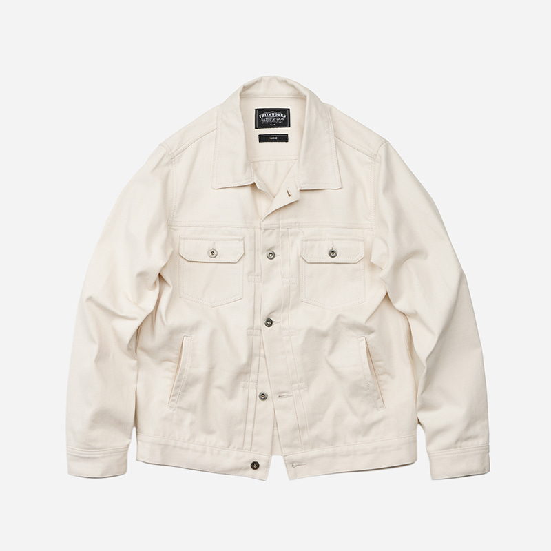 Adams trucker jacket _ oatmeal