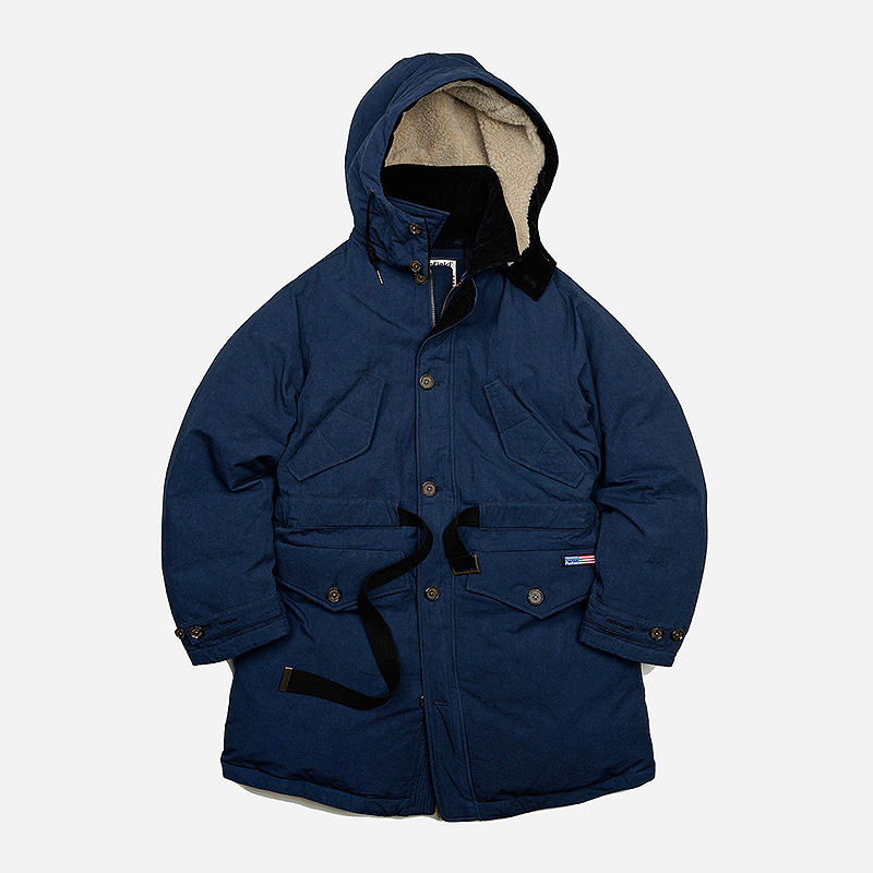 [PENFIELD X FRIZMWORKS] Changjin battle parka _ navy