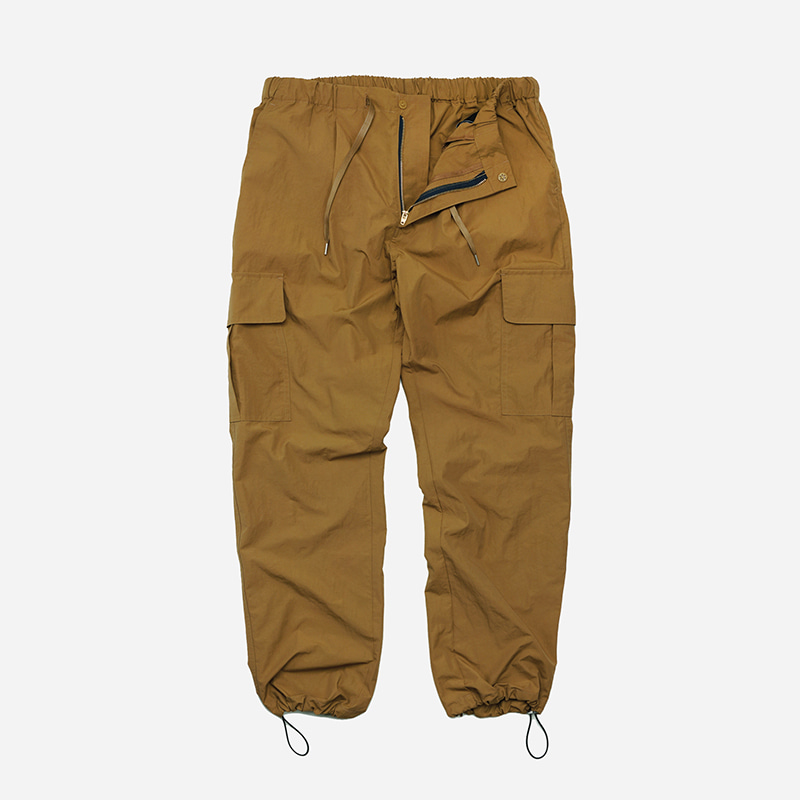 Cargo string pants _ camel
