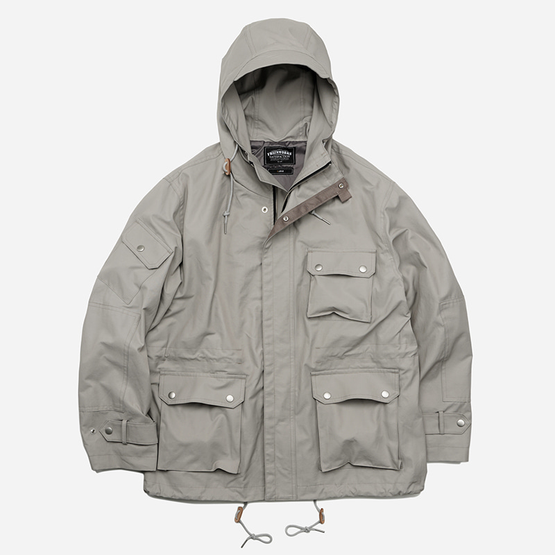 French chemical parka _ gray
