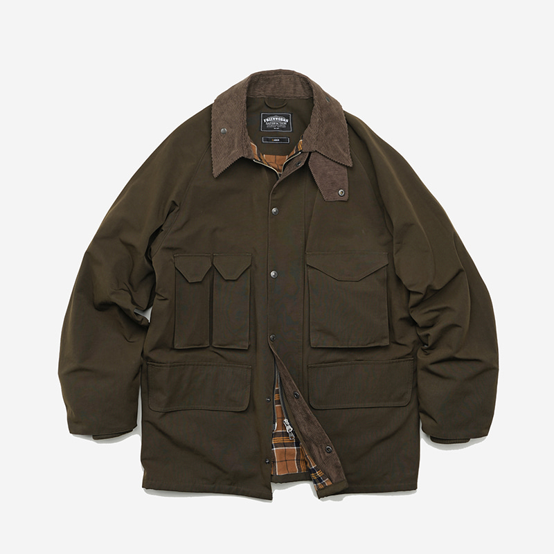 Forest shooting jacket _ olive