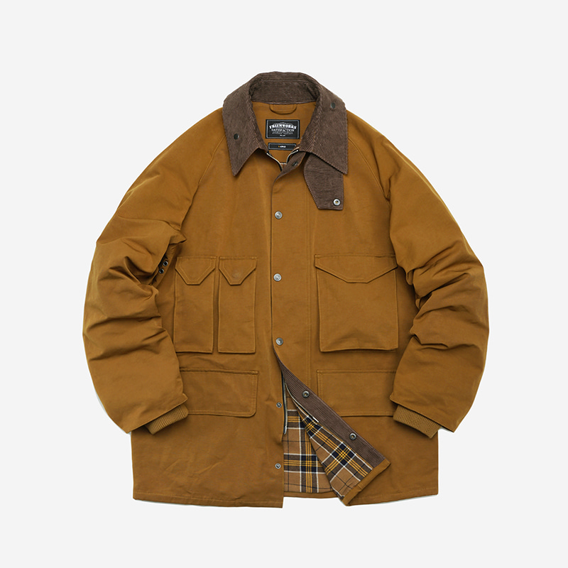 Forest shooting jacket _ camel