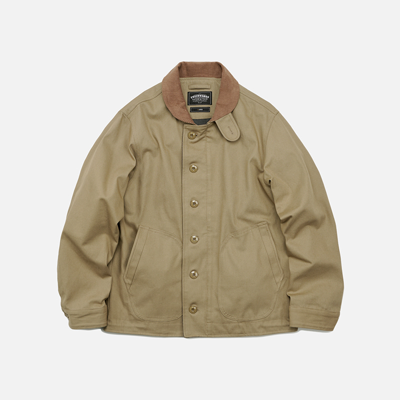 Durable N-1 deck jacket 002 _ beige