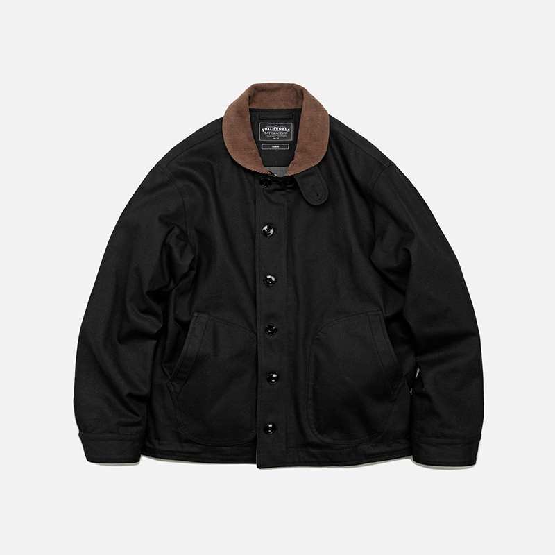 Durable N-1 deck jacket 002 _ black