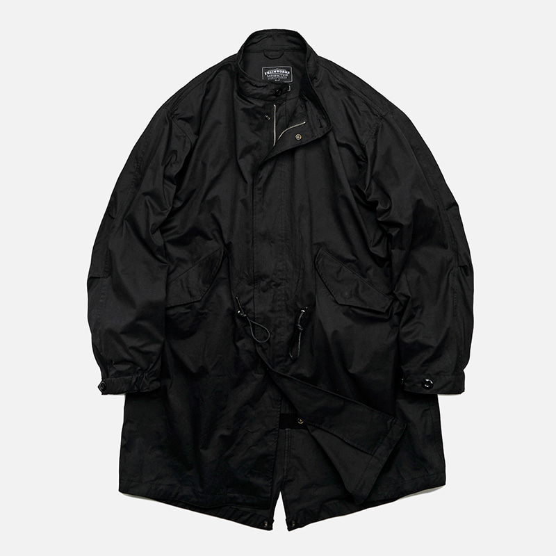 Flavor M65 fishtail jacket _ black