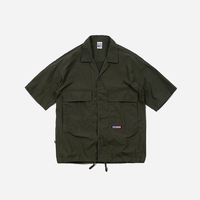 [PENFIELD X FRIZMWORKS] BDU String shirt jacket _ khaki