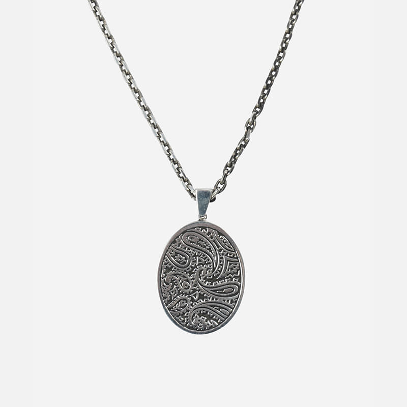 [FWS X AGINGCCC] Paisley 92.5 silver necklace