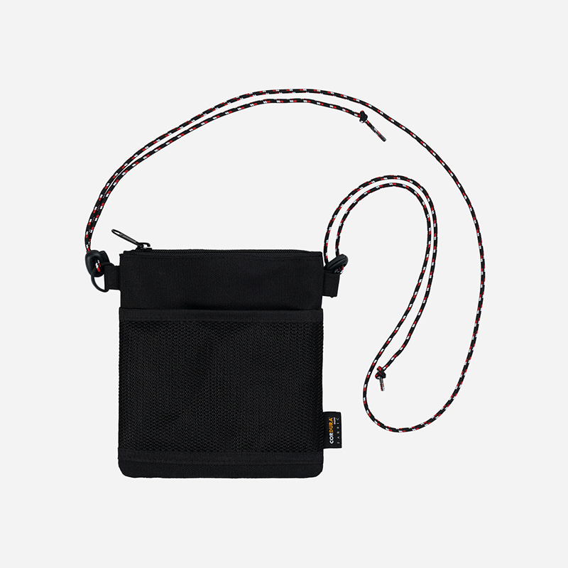 [WEBZEN FRIENDS X FRIZMWORKS] String sacoche bag _ black