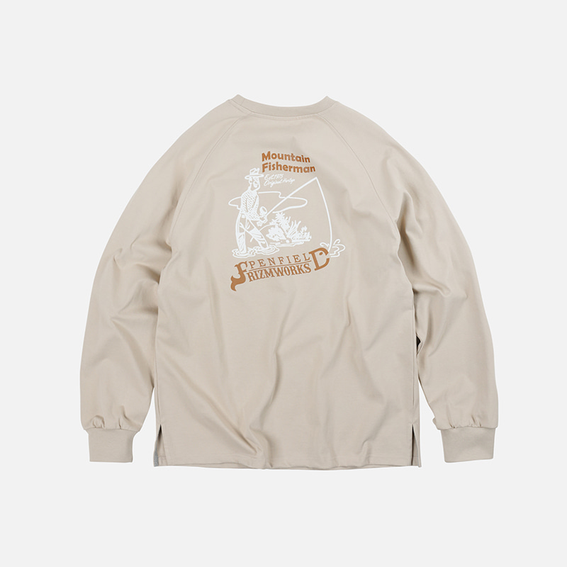 [PENFIELD X FRIZMWORKS] P&F Fisherman long sleeve _ beige