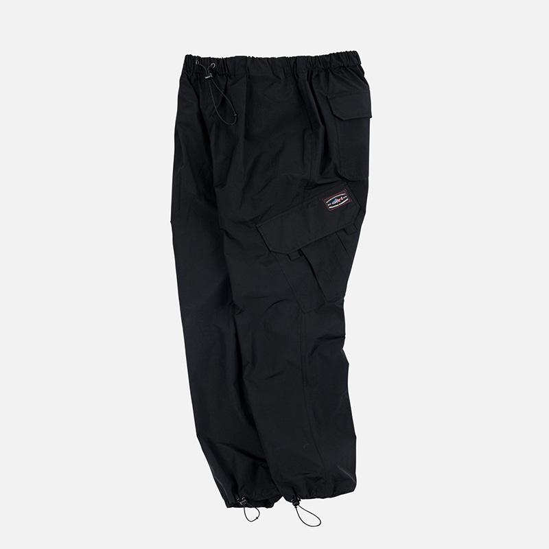 [PENFIELD X FRIZMWORKS] Oblique cargo string pants _ black