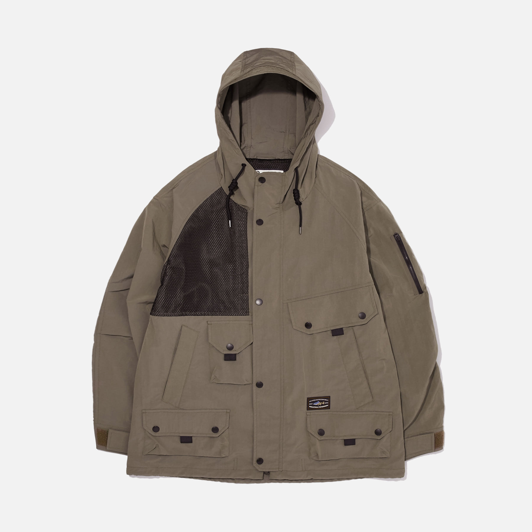 [PENFIELD X FRIZMWORKS] Utility cargo pocket setup jacket _ light brown