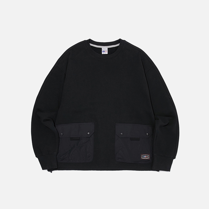 [PENFIELD X FRIZMWORKS] NYCO Pocket sweatshirt _ black