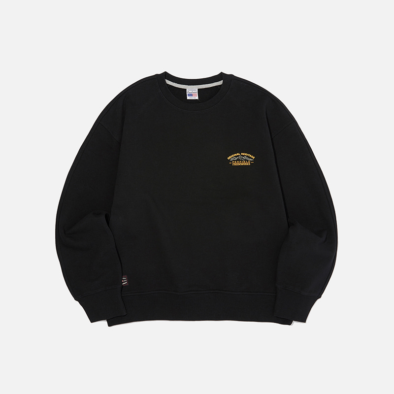 [PENFIELD X FRIZMWORKS] Mountain fishing sweatshirt _ black