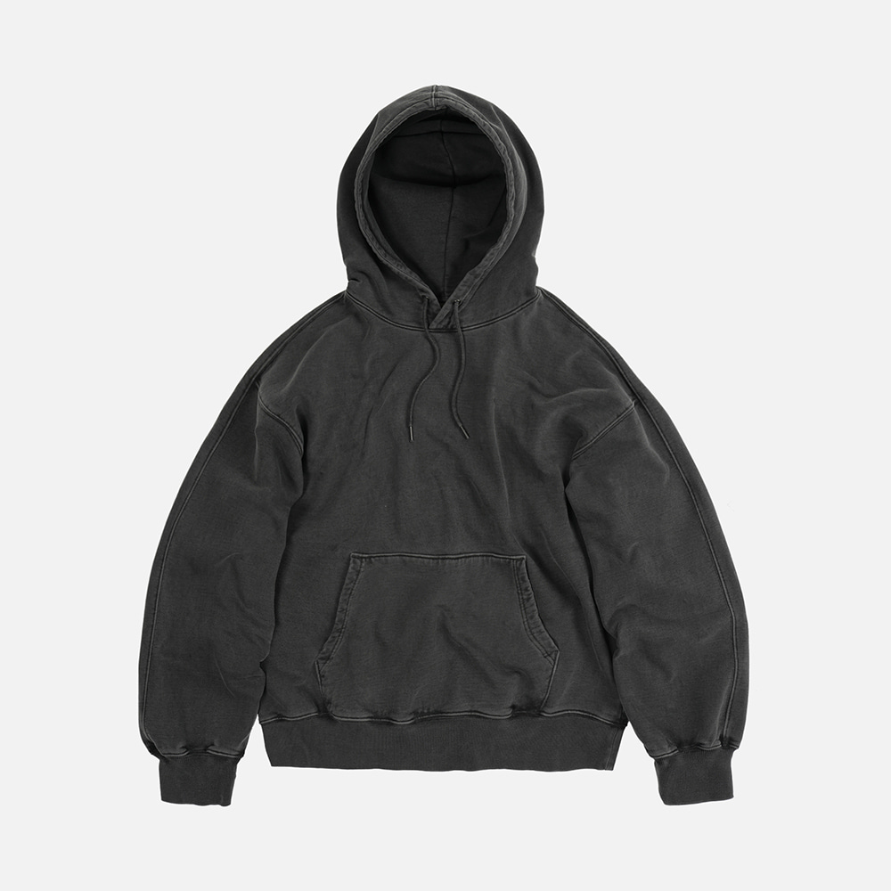 OG pigment dyeing hoody 002 _ charcoal