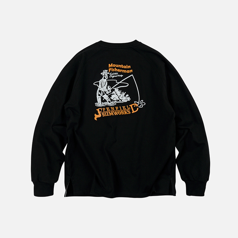 [PENFIELD X FRIZMWORKS] P&F Fisherman long sleeve _ black