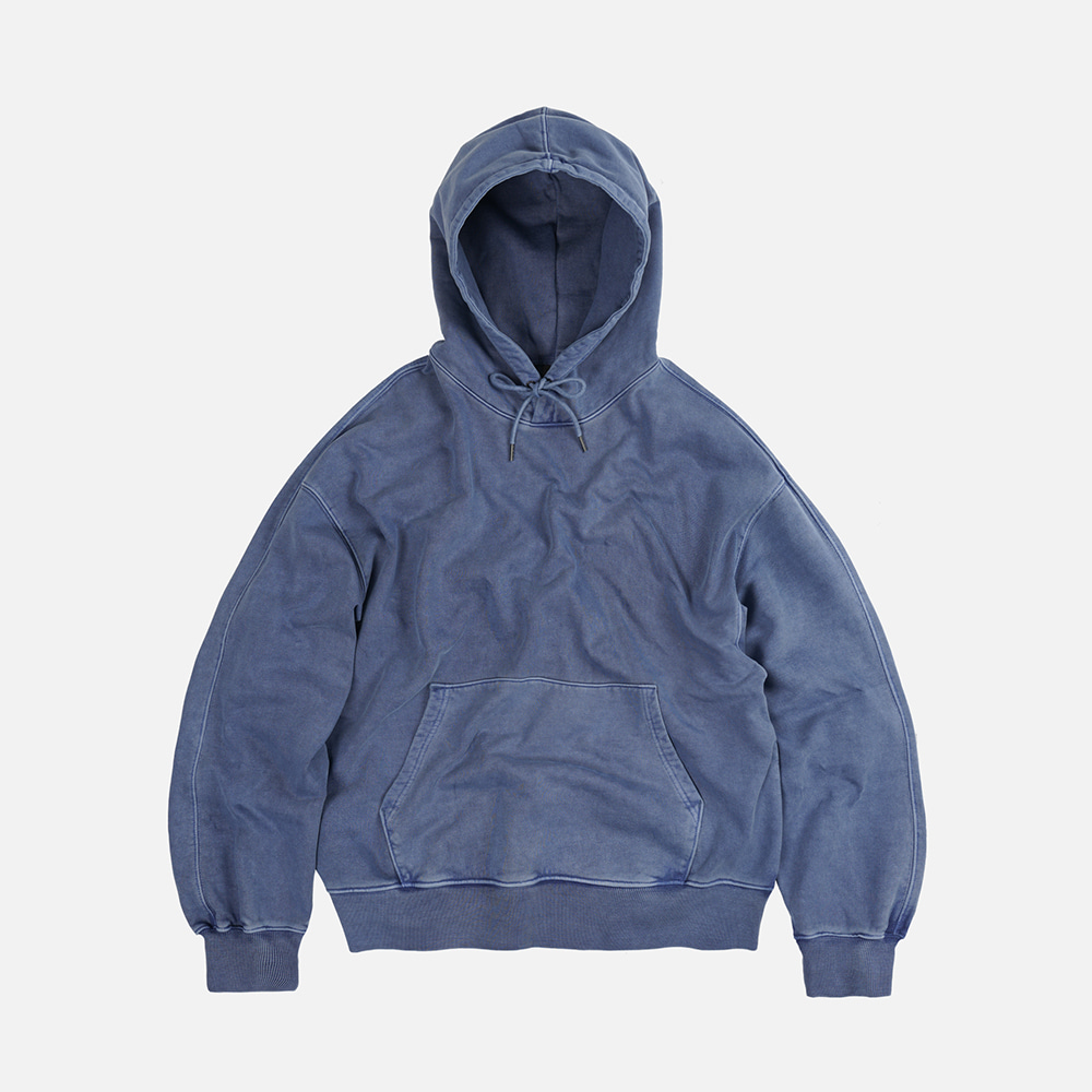 OG pigment dyeing hoody 002 _ blue