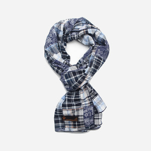 Madras patchwork Scarf _ paisley[exclusive]